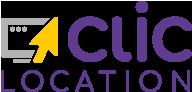 Clic Location – Location informatique opérationnelle Logo
